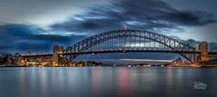 Rise and Shine (Mike Hankey.) Tags: bridge harbour sydney operahouse bluespoint