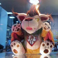 WoW Horde WindRider Plushie (LionessLeesha) Tags: wow doll worldofwarcraft plush stuffedanimal blizzard comiccon horde windrider comiccon2013