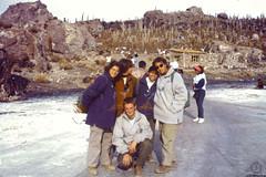 Friends photo @ Incahuasi (JF Sebastian) Tags: friends cactus people island friend bolivia thatsme scannedslide uyuni takenby saltflat rutaquetzal incahuasi digitalized morethan100visits morethan250visits rutaquetzal1996 oldfilmautomaticcamera