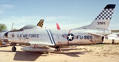 F-86L 53-0965 Pima 98 (joolsgriff) Tags: pima sabre usaf f86 northamerican f86l