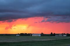 Midwest rainstorm (firepile) Tags: storm rain southdakota rainstorm chasing