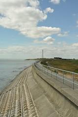 Walton to Clacton Walk (amanda.parker377) Tags: clouds seawall essex radiomast hollandonsea essexcoast