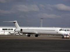 Khors Aircompany (Fraser Murdoch) Tags: white dutch k scotland airport all glasgow air royal ukraine boring company international gateway tug boeing klm douglas scheme ukrainian kazakhstan kiev gla 737 astana livery b737 md80 md88 mcdonnel md87 md83 b737800 md82 md81 b738 khors aircompany egpf