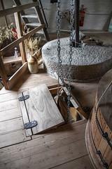 Windmill sack hoist working (2a) - stone floor (nican45) Tags: york slr mill windmill canon yorkshire grain sack dslr tamron holgate 600d 18270 stonefloor hwps holgatewindmill 18270mm sackhoist eos600d 18270mmf3563diiivcpzd stonesfloor