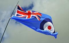Decades old but still flying.. (mickb6265) Tags: jack flag union duxford standard raf roundal duxfordairshow2013