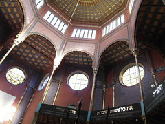 Rumbach synagogue interior (Rol247*) Tags: city travel hungary budapest synagogue ungarn magyarország rumbach