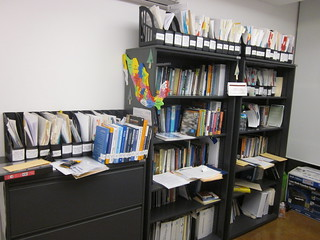 My office at CIDE Region Centro during and aft...