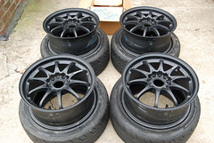 DSC_0413-2 (Blazedd) Tags: black color wheel stem wheels tire racing tires special valve stems rays volks rims 42 rs2 tyres matte tyre volk blk blazed hankook valvestem ce28n ce28 16x7 blazedd
