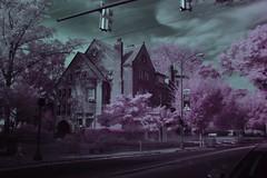 VCU Ginter House Infrared Photo