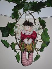 O Natal est chegando... (MariaR) Tags: natal bonecas dolls angels anjos mariar