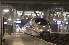 DB ICE 4607 - station Arnhem (Melvin Fer) Tags: holland ice netherlands dutch station train arnhem nederland db international trein highspeed intercity hst nederlandsespoorwegen