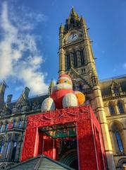 Santa, Manchester Town Hall