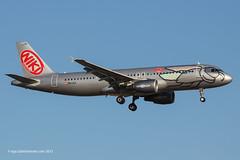 OE-LEA - 2005 build Airbus A320-214, on approach to Runway 24L at Palma (egcc) Tags: airbus mallorca palma niki majorca a320 pmi nly lepa a320214 oelea flynikicom