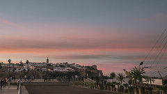 Twilight on the kasbah (aminefassi) Tags: africa city sunset sky urban copyright night clouds twilight cloudy morocco crepuscule rabat kasbah photographe oudayas gx1 20mmf17 aminefassi vision:sunset=0917 vision:outdoor=099 vision:ocean=0612 vision:sky=099 vision:car=064 vision:clouds=0985