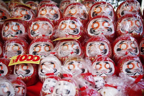 Many daruma for sale