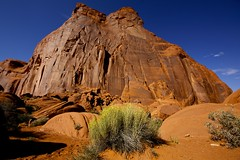 In the heart of the Monument Valley (Kristoffersonschach) Tags: arizona usa sony navajo a77 rotel