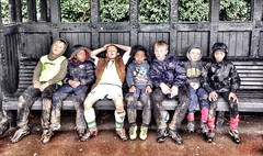 """""""Heroes are made in the hour of defeat."""" - Mahatma Gandhi (andylowe99) Tags: london kids football exterior mud thunder grassroots harrow hsm"""