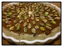 A sweet nutcake for New Year! (Maudby) Tags: life cake raw desert earth chocolate fat walnut almond newyear heath sweets cocoa cashew healthyfood rawfood paj almondcake efterrätt goodfat pecannut
