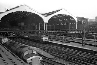 London, Liverpool Street station (1), 1975