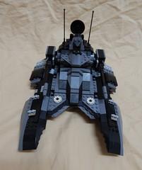 Tank Profile Black (Johnny-boi) Tags: shadow trooper black star republic tank lego arf walker wars custom gunship starfighter dropship