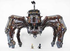 Arliss Loveless's Tarantula Contraption (Imagine) Tags: spider lego mechanical creature steampunk wildwildwest imaginerigney arlissloveless