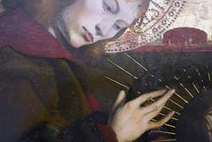 Pietà of Villeneuve-lès-Avignon, detail with thorns, c. 1455