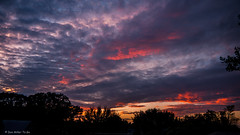 Touch of of Color (DonMiller_ToGo) Tags: sky nature clouds cloudy sunsets skyscapes goldenhour fireinthesky skycandy gf1 views100 cloudsonfire sunsetmadness sunsetsniper