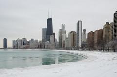 Frigid City (benchorizo) Tags: winter snow chicago cold ice nikon day cityscape freezing icy frigid chicagoskyline northavenuebeach chicagoist banias bittercold frozwn d7000 benchorizo romeobanias polarvortex pwwinter