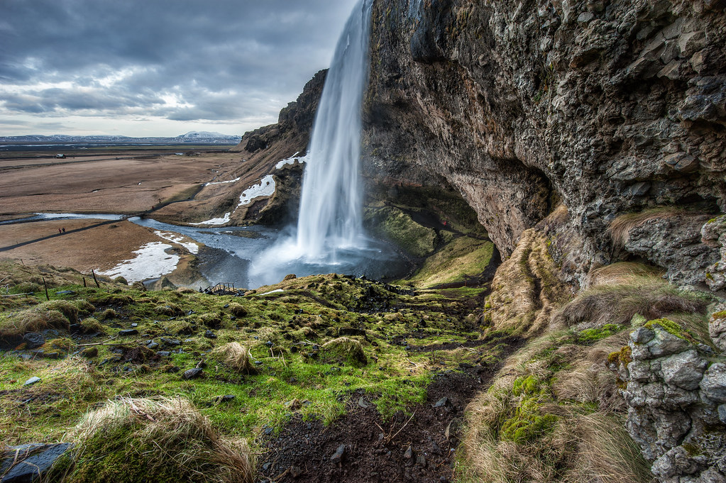 Seljalandsfoss, the first stop on the Iceland Photography Tour.