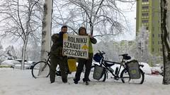 (szczym) Tags: trip winter bike poland polska zima warszawa rower bzzz pszczoły wyprawa miód robaki flickrandroidapp:filter=none jedziemynamiodzie wyprawawobroniepszczół rolnikuszanujpszczoły