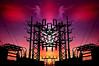 Power Montage (Tau Zero) Tags: power eagle electricity electrical substation digitalmirror