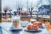 Latte Macchiatto & Apple Pie, Holysloot, Noord-Holland, Netherlands (Stewart Leiwakabessy) Tags: netherlands amsterdam rural village thenetherlands quaint noordholland the holysloot northholland macchiatto foodpieapple pielattelatte