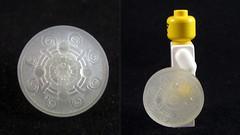 LEGO 3D Printed Iron Banded Shield (mingles-) Tags: 3d iron lego v elder shield printed banded scrolls skyrim shapeways