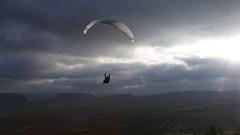 Parapente (marina_mondon) Tags: france soleil ciel nuage adrenaline millau parapente aveyron