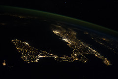 Italy and Sicily at Night (NASA, International Space Station, 10/23/13) (NASA's Marshall Space Flight Center) Tags: italy rome nasa ceo naples sicily adriaticsea internationalspacestation earthatnight earthobservation crewearthobservations spacestationresearch