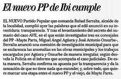 """Recorte editorial """"El mundo"""""""