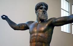 Artemision Zeus or Poseidon, bust, c. 460 B.C.E.