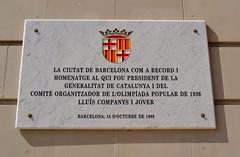 ESTADI OLMPIC LLUS COMPANYS (Yeagov C) Tags: barcelona catalunya montjuc estadi estadiolmpic lluscompanys estadiolmpiclluscompanys