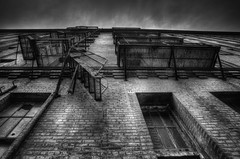 No Escape (Jon Dickson Photography) Tags: bw abandoned decrepit stl