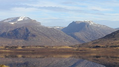 Beinn Dearg and Loch Glascarnoch. (northernkite) Tags: highlands scottish loch dearg beinn glascarnoch