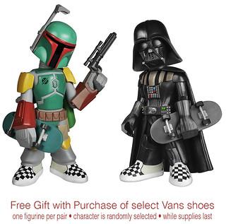 【黑武士玩滑板太帥啦~】Vault by Vans × STAR WARS 聯名鞋款