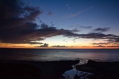 Sunset 1 (Aljone) Tags: bridge sunset sea beach boat nikon dusk philippines d7000 nikond7000