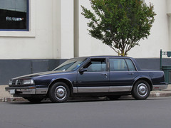 Oldsmobile Ninety Eight Regency 1990 (RL GNZLZ) Tags: sedan gm 98 oldsmobile ninetyeight 98regency