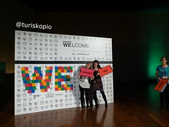 WELCOME - fotocall (5) (turiskopio) Tags: travel centre touch feel exhibition bilbao professional evento conference welcome bec turismo connect encuentro profesional ponencias welcome2014
