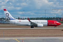 "LN-DYY, Norwegian Air Shuttle, Boeing 737-8JP(WL) - cn 39012.""Vilhelm Bjerknes"" (dahlaviation.com) Tags: oslo norway airplane aircraft aviation airplanes norwegian boeing spotting osl gardermoen 737 aircrafts planespotting engm"