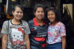 three pretty ladies (the foreign photographer - ) Tags: ladies portraits thailand three nikon women pretty bangkok adults khlong bangkhen thanon d3200 jan102015nikon