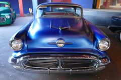 1956 Oldsmobile (bballchico) Tags: hardtop 1956 oldsmobile 2door grandnationalroadstershow saturdaydrivein