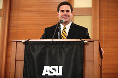 Doug Ducey (Gage Skidmore) Tags: arizona university thought state doug political center governor asu leadership tempe ducey