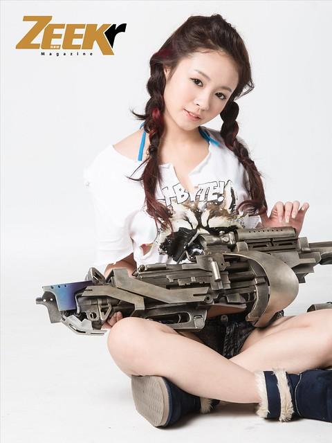 ZEEK Girl-星際異攻隊5