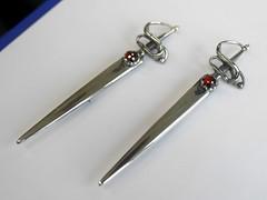 A Pair of Kiltpins - 2 (the justified sinner) Tags: silver pin kilt brooch jewelry panasonic jewellery sword sterling 20mm swept gem garnet hilt gemstone f17 kiltpin gx7 justifiedsinner